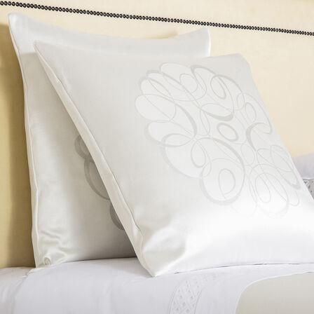 Luxury Sparkling Swirl Decorative Pillow
