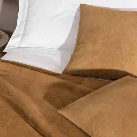 Luxury Suede Bed Runner