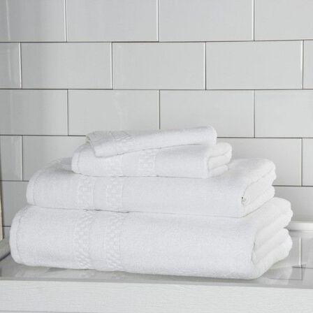 Checkerboard Guest Towel