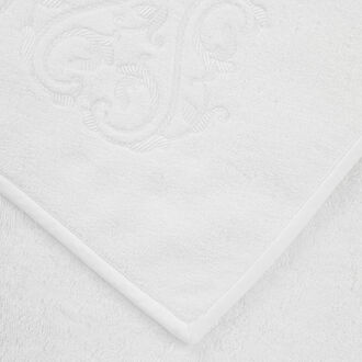 Ornate Medallion Embroidered Hand Towel