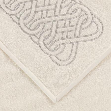 Auspicious Embroidered Bath Sheet