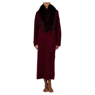 Fur Darling Robe