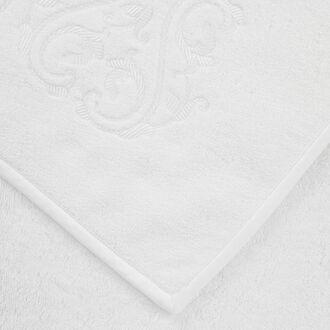 Ornate Medallion Embroidered Bath Towel