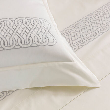 Auspicious Embroidered Duvet Cover