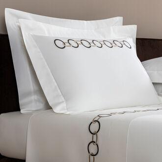 Llinks Embroidered Boudoir Sham