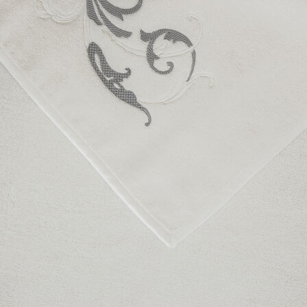 Tracery Embroidered Bath Towel