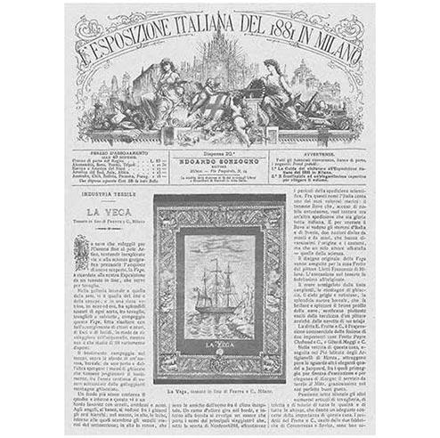 La Vega National Exhibit announcement 1881