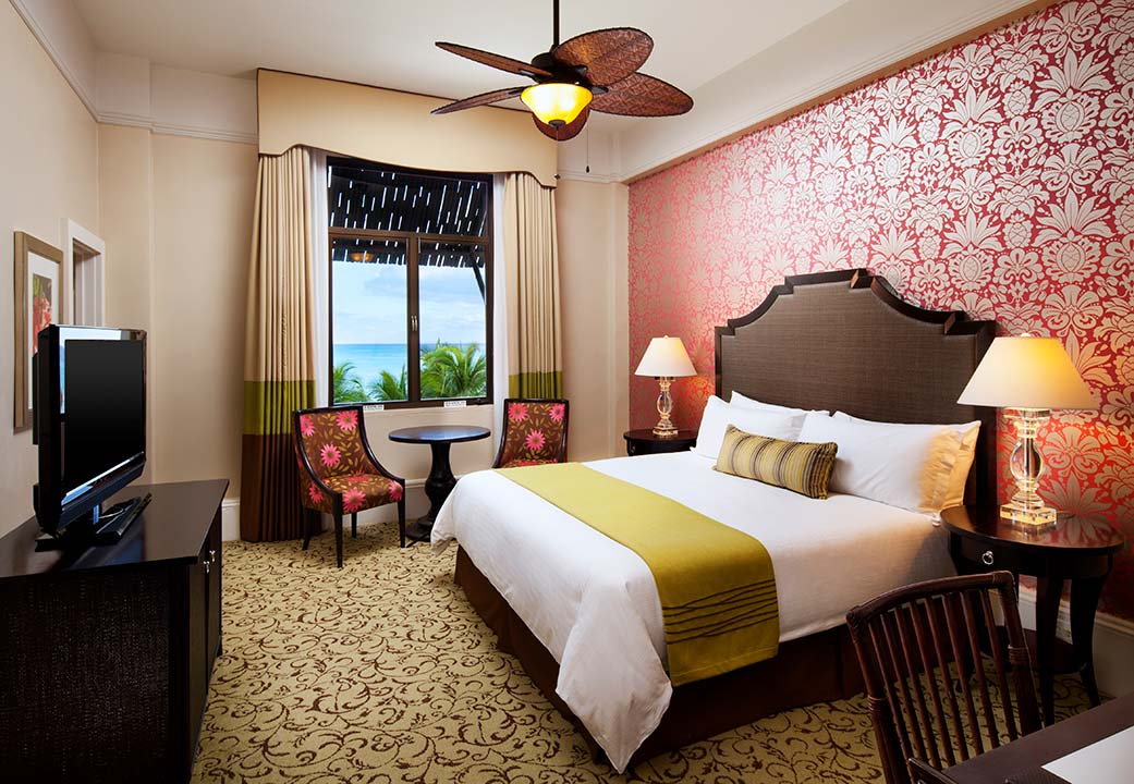 The Historic Ocean Room at The Royal Hawaiian