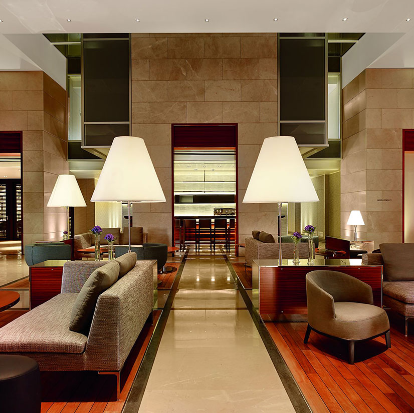 The Ritz-Carlton Herzliya lobby