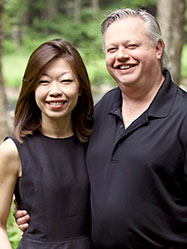 Pamela and Patrick Wallace, Owners of Trout Point Lodge